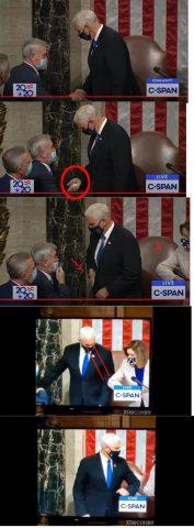 Pence Caught Taking Bribe